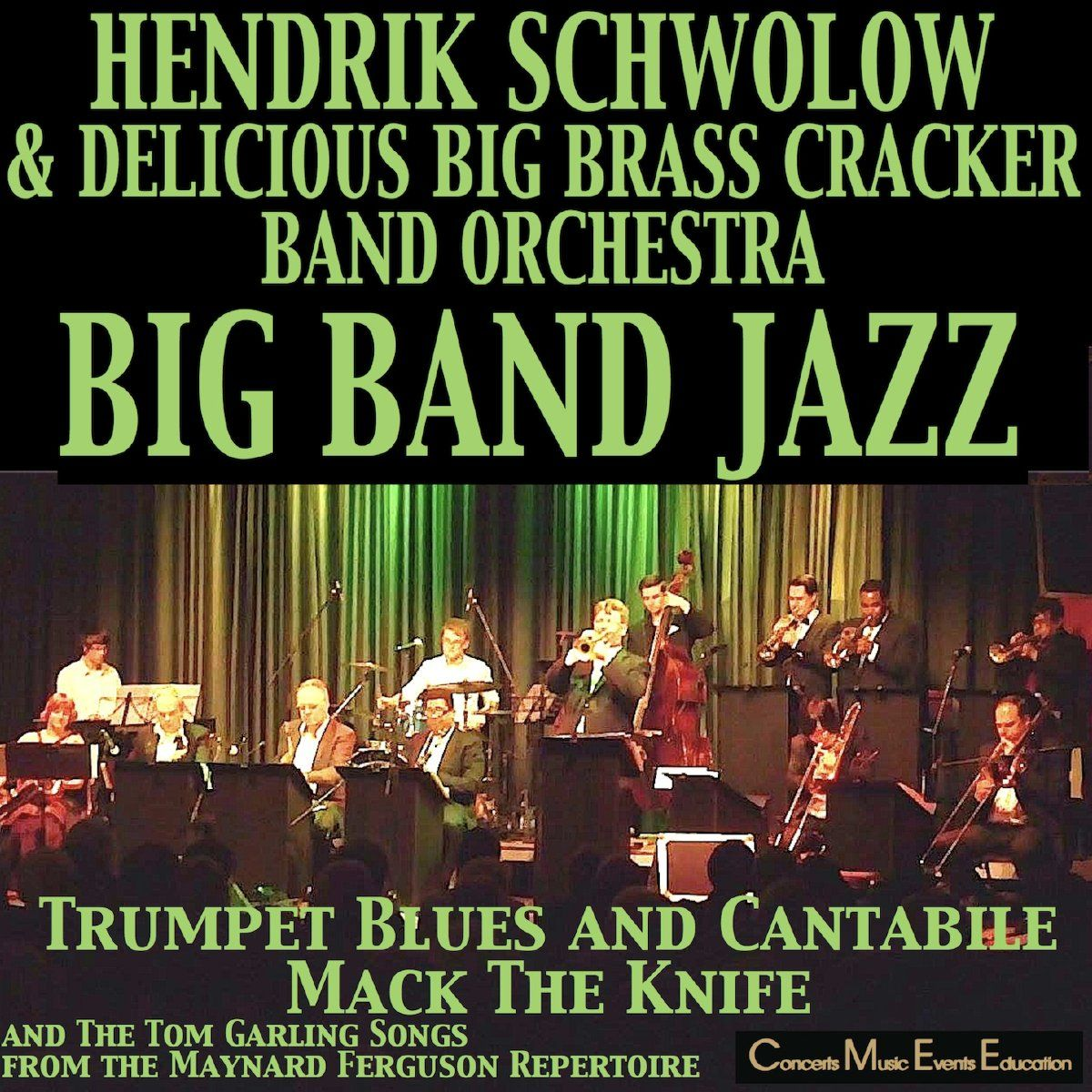 Big Band Jazz-CD Hendrik Schwolow klein